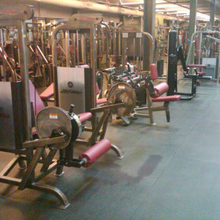 Fitness Facility Upholstery